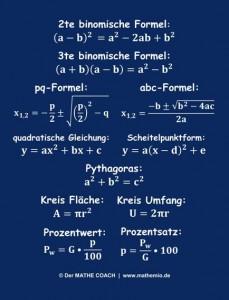 mathemio-Formeln-Aufkleber Vorschaubild